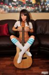 amateur photo Bryci in striped socks