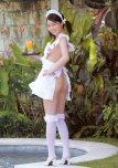 amateur photo Naked apron