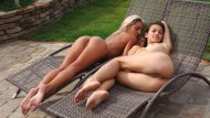 amateur photo Babes in the backyard