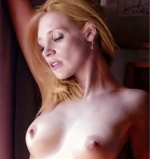 Jessica chastain boobs lawless