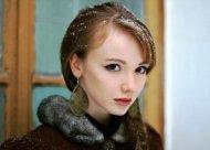 The delicate features of Olesya Kharitonova