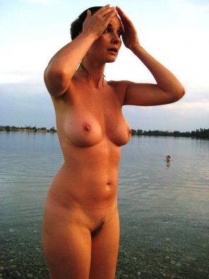 amateur photo Skinny dipping