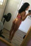 amateur photo Megan Rain snapchat selfie