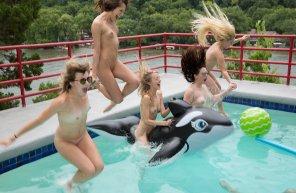 amateur photo Splashdown