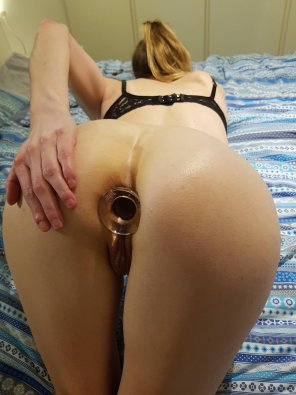 amateur photo Glass plug [F]