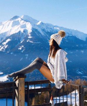 amateur photo Après-ski