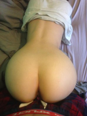 amateur photo My girlfriends ass, in her favourite position