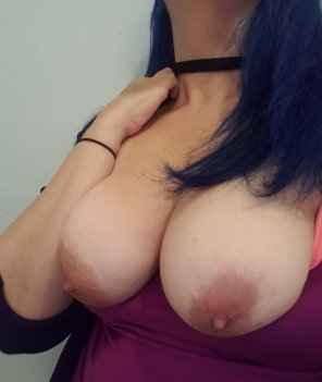 amateur photo I wish I had someone to play with my tits right now