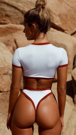 amateur photo Wearing red and white