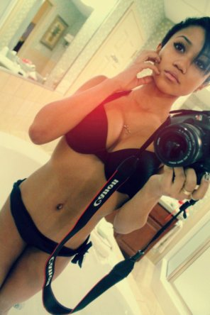 amateur photo Beauty in the Mirror