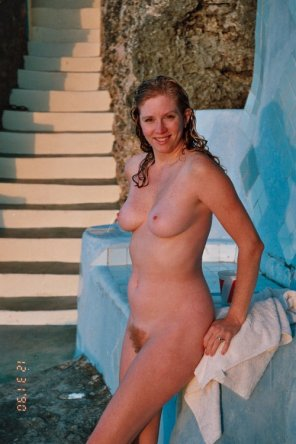 amateur photo Cute and wet