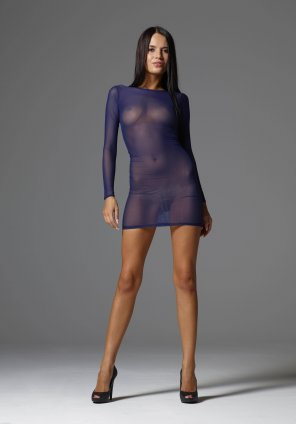 amateur photo Transparent dress