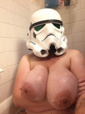 amateur photo ImageA little busty to be a stormtrooper [image]