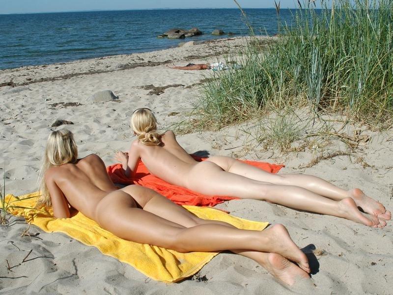 Nude Beach Porn Photo