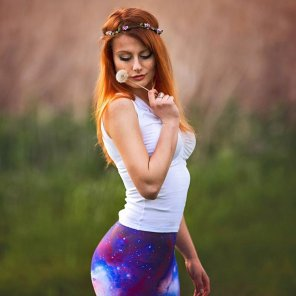 amateur photo Space pants
