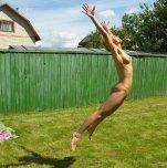amateur photo Jumping
