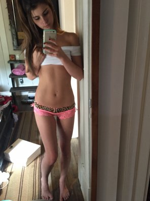 amateur photo Skinny little panties