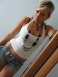 amateur photo Beaty in the mirror