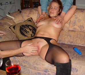 amateur photo German slut Sandra