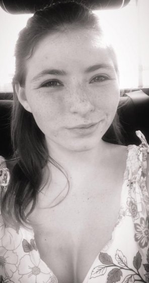 amateur photo Freckled Smirk