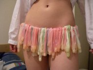 a skirt for a true cumslut