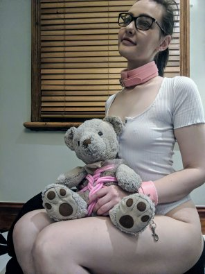 amateur photo [f18+] My bear helped me practise 😊