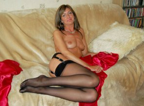 amateur photo Mature and gorgeous