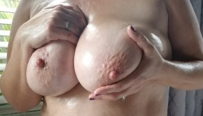 amateur photo Oiled up and ready