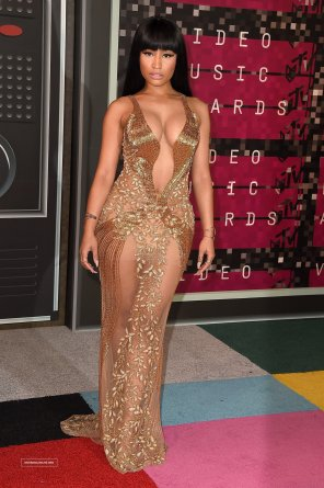 amateur photo Nicki Minaj at the VMAs