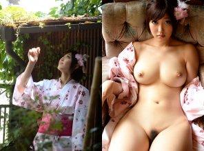 amateur photo Geisha Girl
