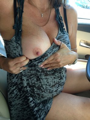 amateur photo Heard you guys like big real natural milf titties..