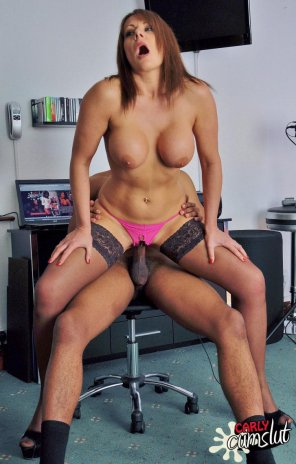 amateur photo Milf Carly Cumslut fucked by a black guy