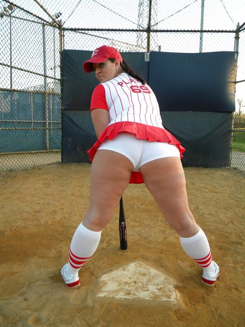 Thick batter up Porn Photo