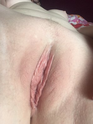 amateur photo Freshly shaved ready to be enjoyed