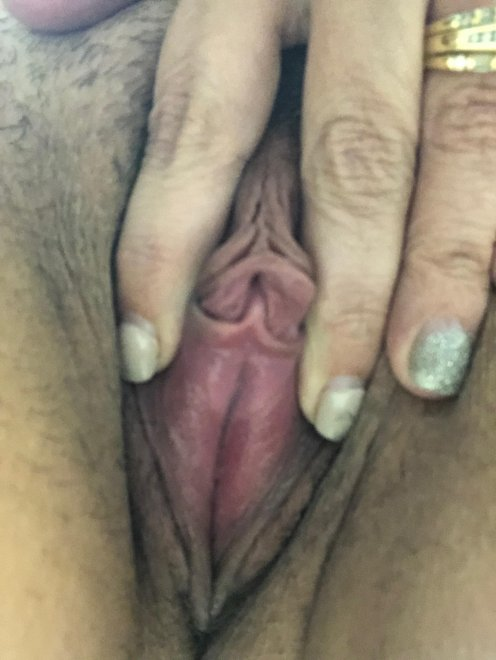 Little spread 😏 Porn Photo