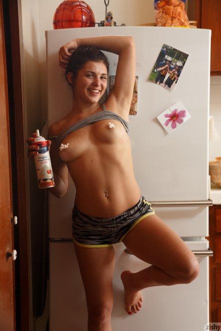 Whipped cream. Porn Photo