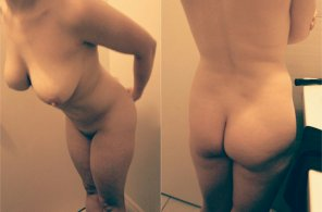 amateur photo A lil front and back view