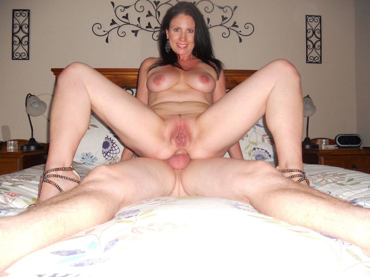 milf deep anal sex - He's balls-deep in her ass, and this milf is nothing but smiles Porn