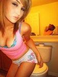 amateur photo Amateur hot selfie in washroom