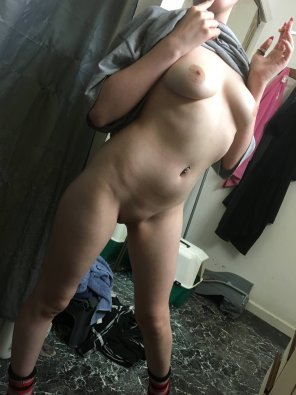 amateur photo My sexy wife posing for you guys.
