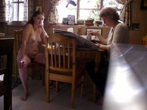 amateur photo Naked with mom