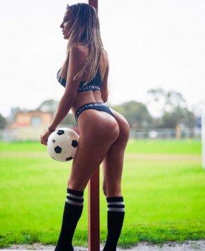 amateur photo Soccer girl