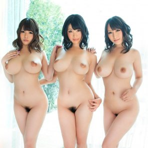 amateur photo Three Cool Asian Girls from Japan