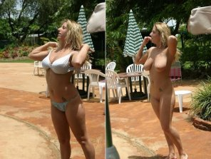amateur photo Blonde With Nice Tits