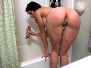 amateur photo Bath Time Booty