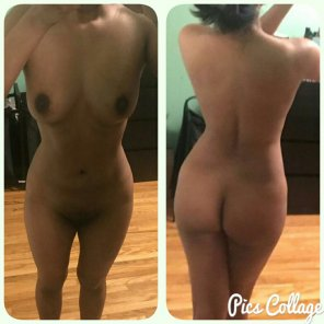 amateur photo [F]ront and Back