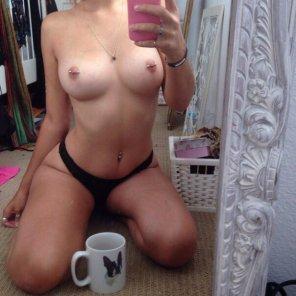 amateur photo PicturePug Mug & Piercings
