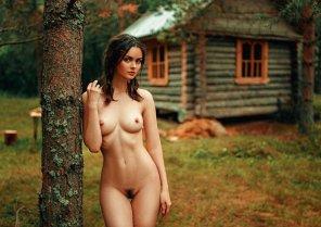 amateur photo Log cabin