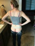 amateur photo Pants appear to be a bit too tight