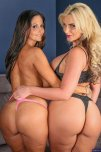 amateur photo Ava Addams and Phoenix Marie